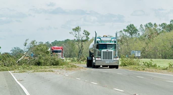 Trucking, Rescue Groups Describe Hurricane Relief As 'Organized Chaos'