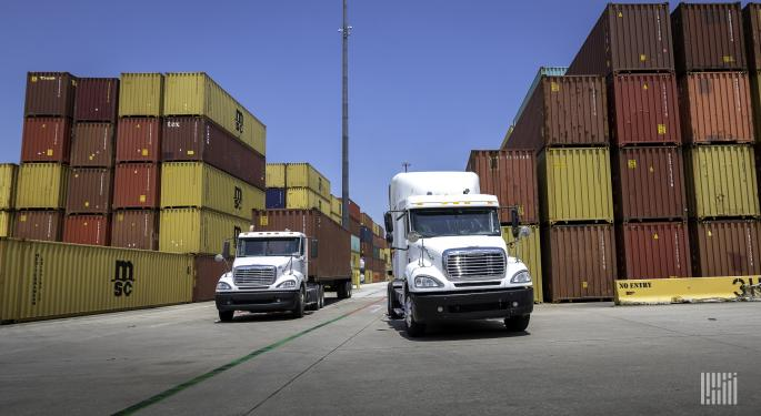 Analysts All In On Transportation Stocks; Transition To Services Spending No Threat
