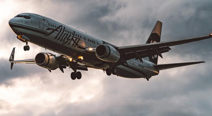 Boeing recibe más pedidos de Alaska Airlines del 737 MAX