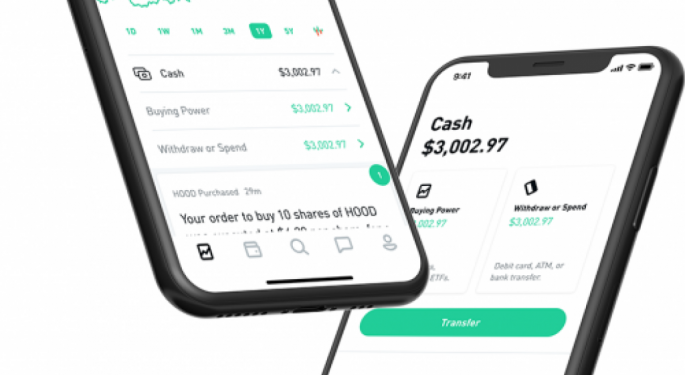 Robinhood Planning Confidential IPO As Early As March: Report