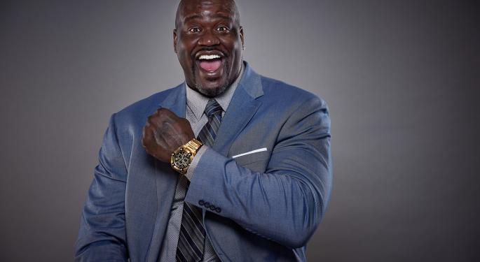 Shaq SPAC Coming: Shaquille O'Neal Teams With Former Disney Execs