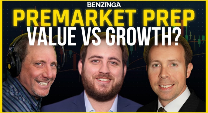 Growth Is A Sell On Rallies, Value Is A Buy On Dips: PreMarket Prep