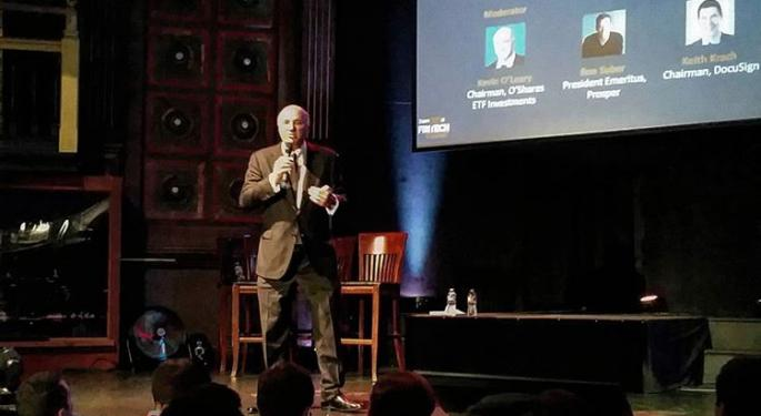 Benzinga Fintech Summit: Kevin O'Leary, Ron Suber And Keith Krach Talk The Art Of Hunting And Executing