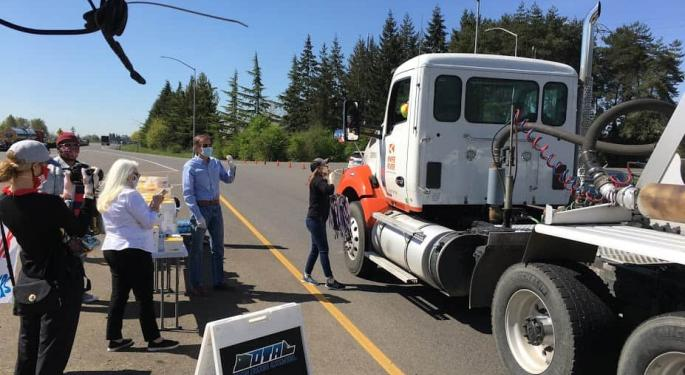 Today's Pickup: Oregon Offers Hundreds Of Truckers Free Lunch