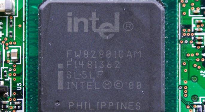 Chip Stocks Mostly Soar As Intel Raises Q3 Guidance