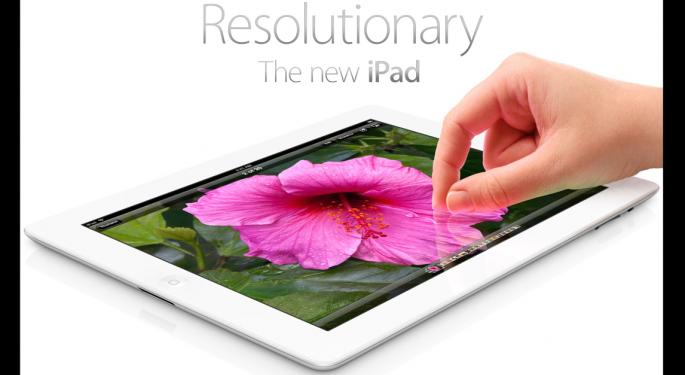"""Apple Forced to Release iPad 4 Because of """"Stale"""" Sales"""