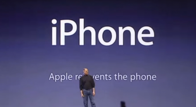 This Day In Market History: Apple Introduces The iPhone