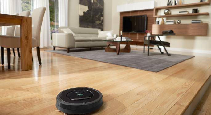 iRobot Option Traders Betting Holiday Rebound Continues
