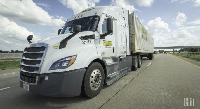 J.B. Hunt Sees Elevated Demand Through At Least Q1