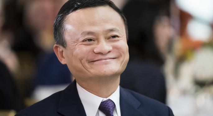 Alibaba se dispara un 8,5% y Jack Ma reaparece públicamente