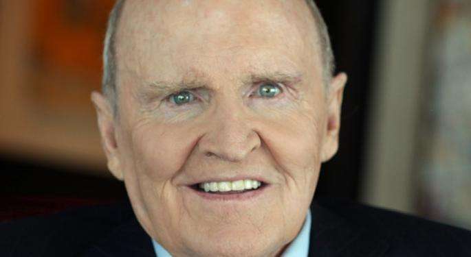 Former General Electric CEO Jack Welch Dies At 84