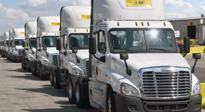 J.B. Hunt Opens Mexico Sales Office; Honors 53 Drivers For Driving At Least 2 Million Safe Miles