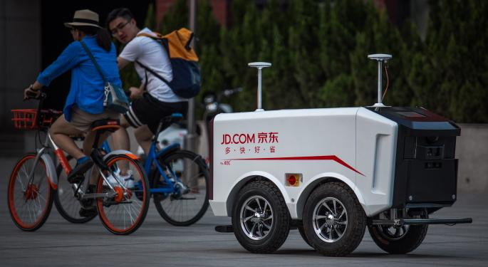 Google Takes $550M Stake In China's JD.com