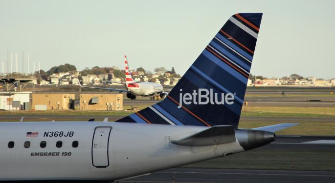 JPMorgan Downgrades Airlines JetBlue, Spirit, United, Recommends 'Selective Profit-Taking'