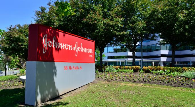 Johnson & Johnson Shares Might Break Lower Before They Break Out