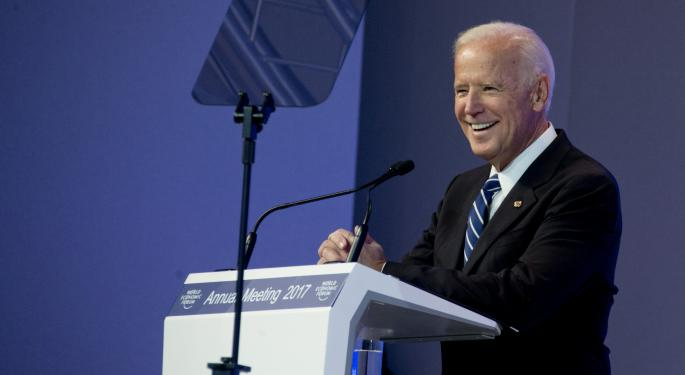 Ackman Vs. Biden: Former VP Gets Fist-Shakingly Feisty With Hedge Fund Manager