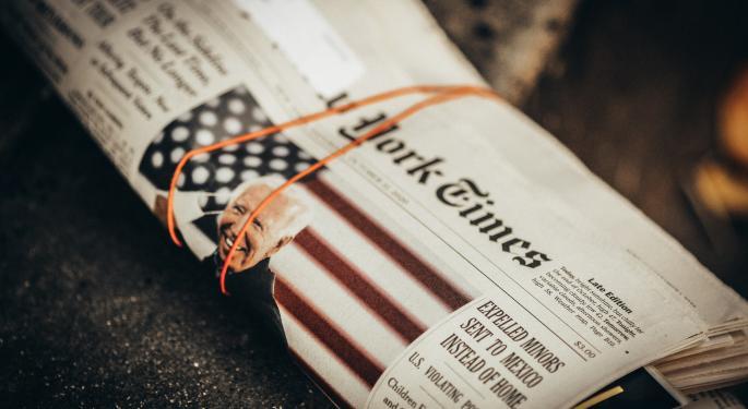 Columna del New York Times vendida como NFT por 500.000$