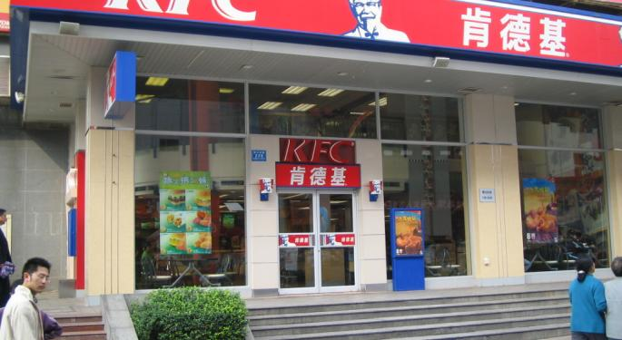 BofA Points To Yum China's Earnings Downside Risk In Downgrade