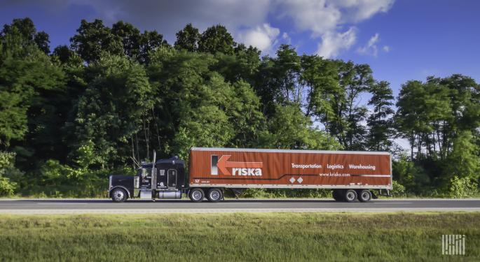 Today Pickup: Canadian Freight Recovers Off Lows