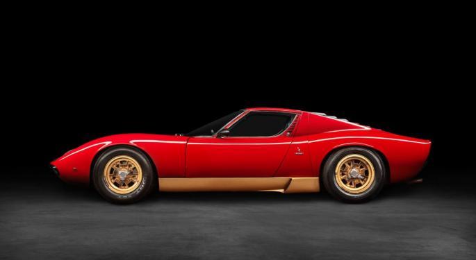 Lamborghini hace historia con su lanzamiento de NFT