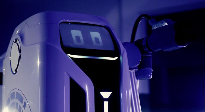 Volkswagen Gives A Sneak Peek Of Its Autonomous Electric Vehicle Charging Robot