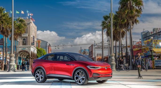 Volkswagen empieza a entregar su SUV ID.4 Crozz en China