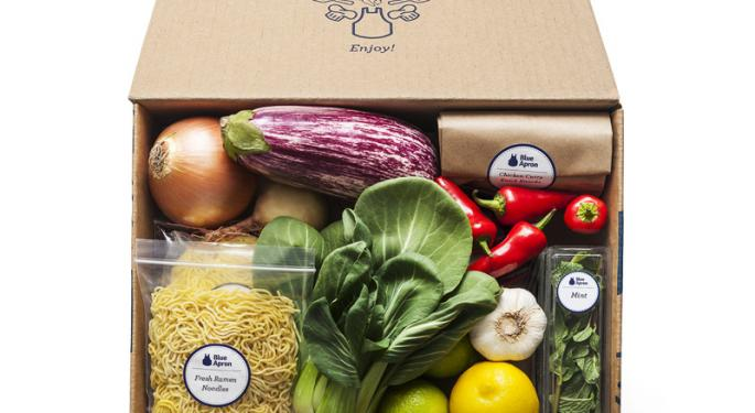 Analysts See Hope For Embattled Blue Apron After Q3 Sales Miss