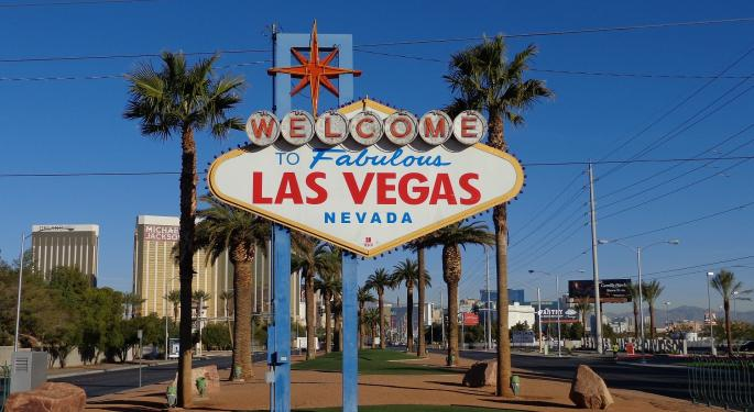 Las Vegas Strip Gaming Sales Down Nearly 9% In January