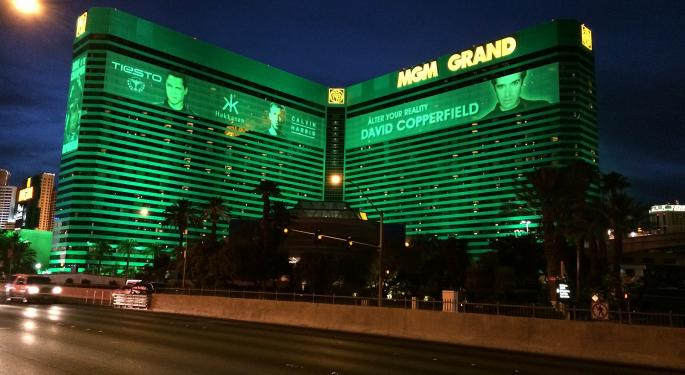 Here's How Much Investing $1,000 In MGM Resorts Stock Back In 2010 Would Be Worth Today