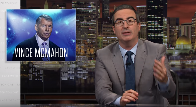 John Oliver Roasts WWE Again, This Time About Health Benefits And Independent Contracts