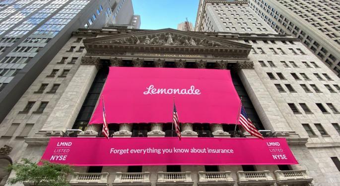 Online Insurer Lemonade Raises $319M In IPO