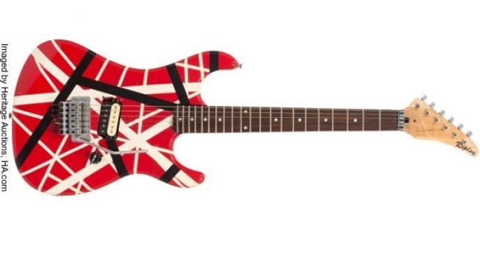 Eddie Van Halen Guitar Up For Auction Today