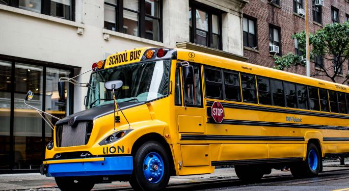 Proterra, Lion Electric Land Electric School Bus Orders: What Investors Need To Know