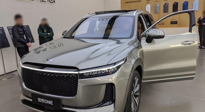 Li Auto ve entregas récord en junio, como Nio y Xpeng