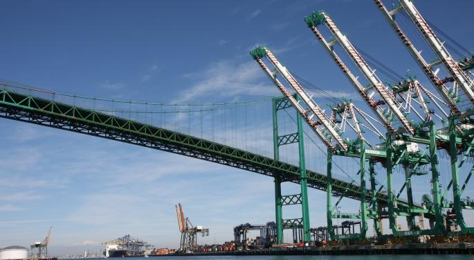 High Energy Costs Are Challenging California Ports
