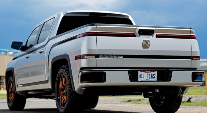 Lordstown Motor's Full-Size Endurance Pickup Surpasses 100K Preorders