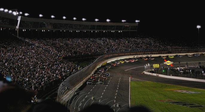 Wells Fargo Sends International Speedway, Speedway Motorsports To The Pit