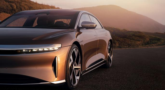 Lucid In Talks With Saudi Arabia's Sovereign Wealth Fund For EV Factory, Governor Confirms