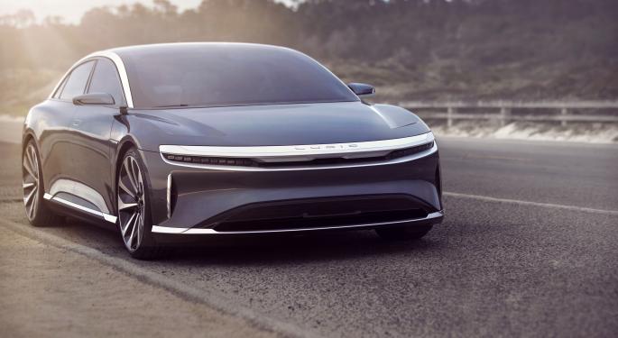 Lucid Motors To Unveil EV With Over 500 Miles Of Range, Surpassing Tesla Model S