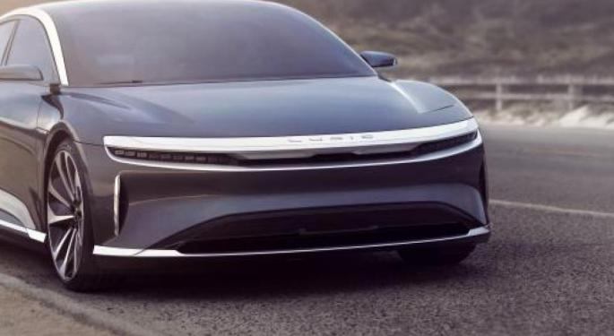 Lucid Motors Deal With Churchill Capital IV Could Be Announced Tuesday: Bloomberg
