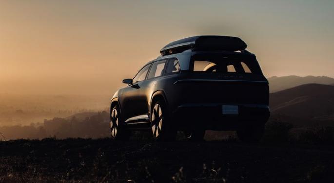 After Long-Awaited Sedan Launch, EV Maker Lucid Hints At 'Gravity' SUV