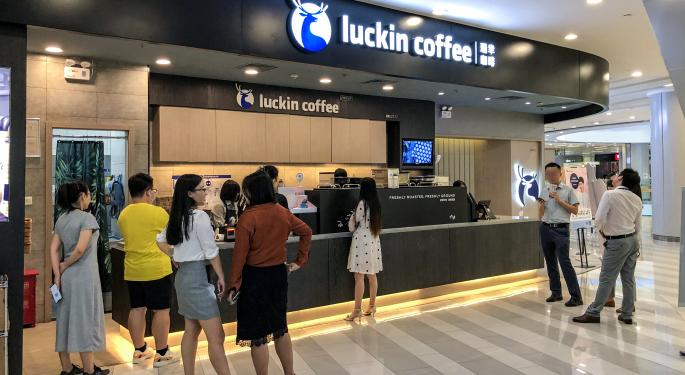 Luckin Coffee Crashes After Company Admits COO 'Fabricated Transactions'