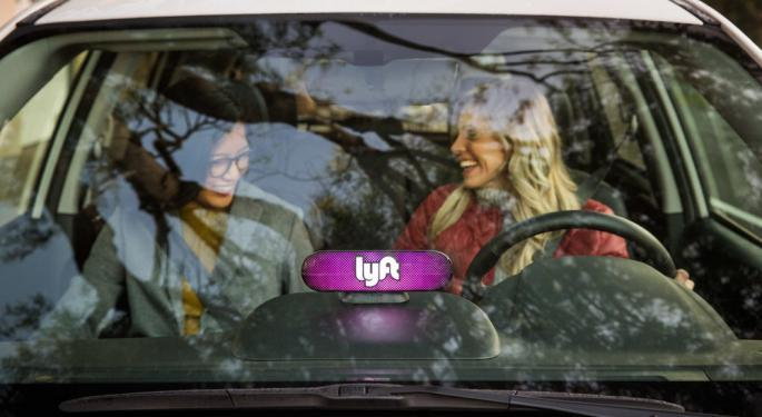 Why Lyft's Stock Is Trading Higher Today