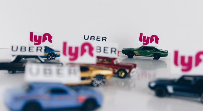 Uber, Lyft Shares Drop As California Regulator Rules Drivers Are Now Employees Under State Laws