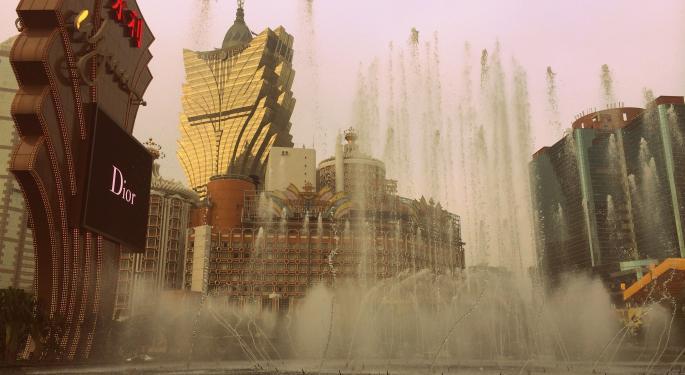 Las Vegas Vs. Macau, By The Numbers