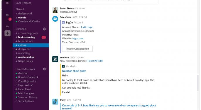 Slack To IPO Through Direct Listing On June 20