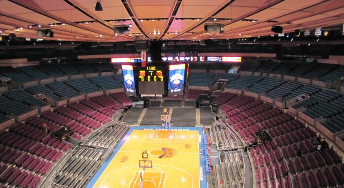 Madison Square Garden Trades Lower On Q4 Earnings Miss