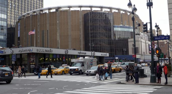 Morgan Stanley Shifts Thesis On Madison Square Garden