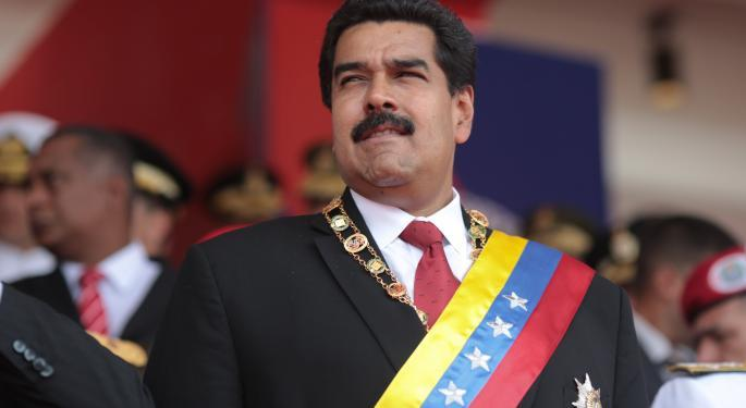 US Indicts Venezuelan President Maduro On Drug Trafficking Charges