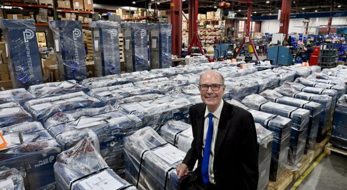 Plug Power CEO Highlights Democratic Senate Win, SK Contract